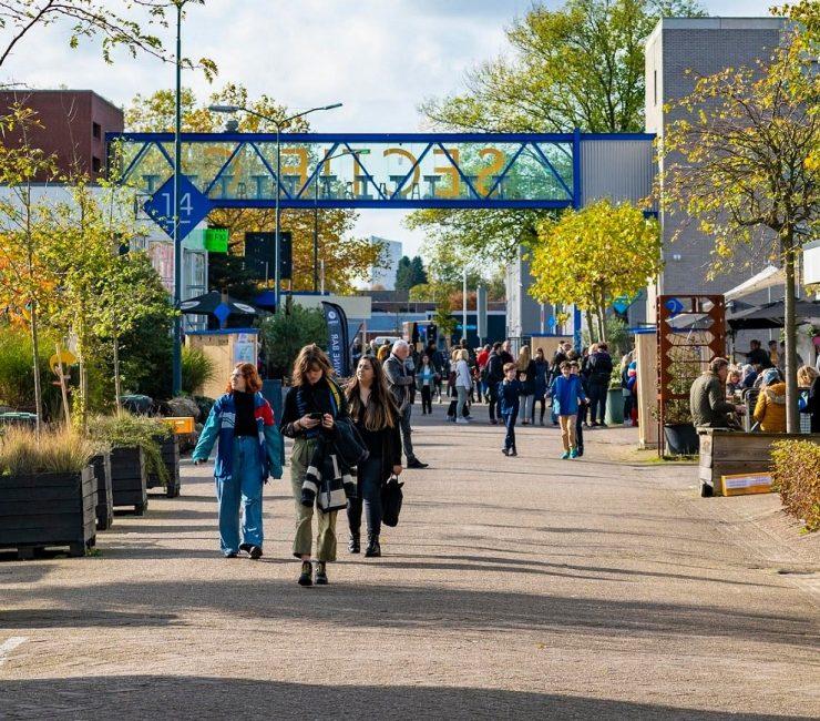 Sectie-C: een levendige plek voor creatieve ondernemers in Eindhoven
